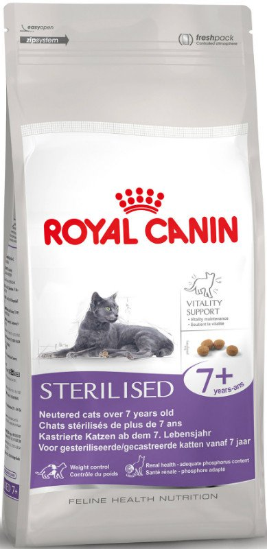 Royal Canin Sterilised 7+ - 1,5 kg.