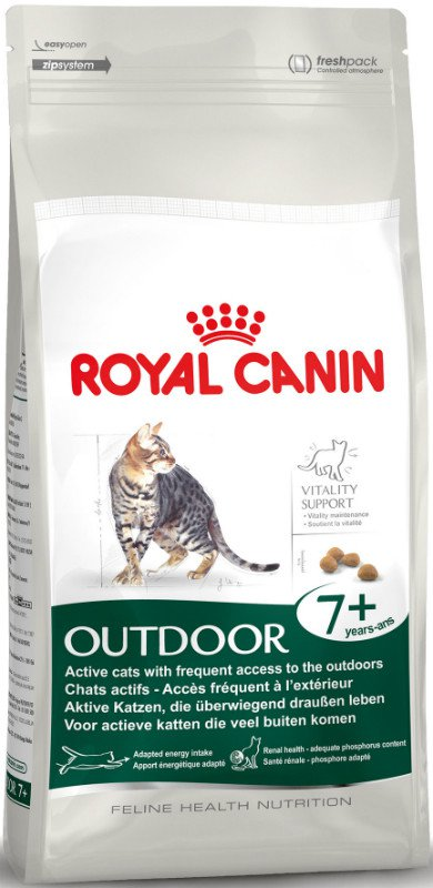 Royal Canin Outdoor 7+ - 2 kg.