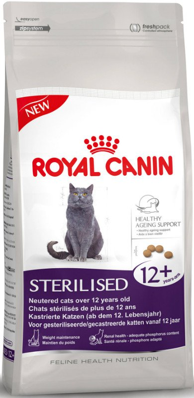 Royal Canin Sterilised 12+ - 2 kg.