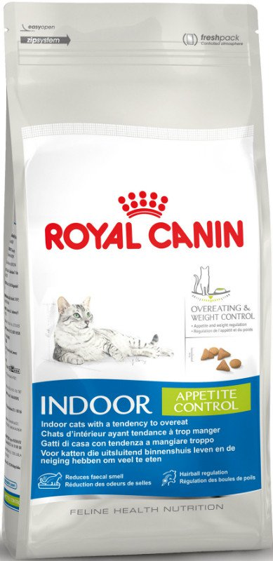Royal Canin Indoor Appetite Control - 2 kg.
