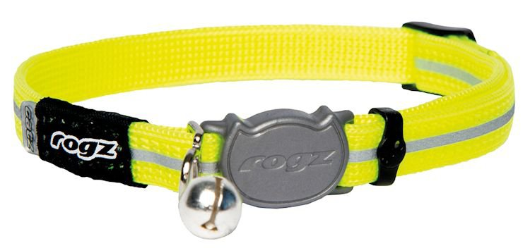 Rogz Alleycat Halsband Small Dayglo - 11mm