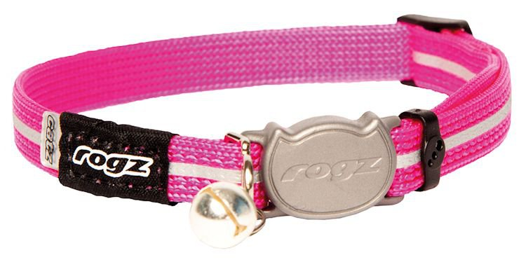 Rogz Alleycat Halsband Small Pink - 11mm