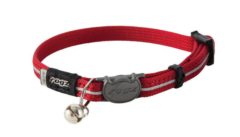 Rogz AlleyCat Halsband XS Red - 11mm