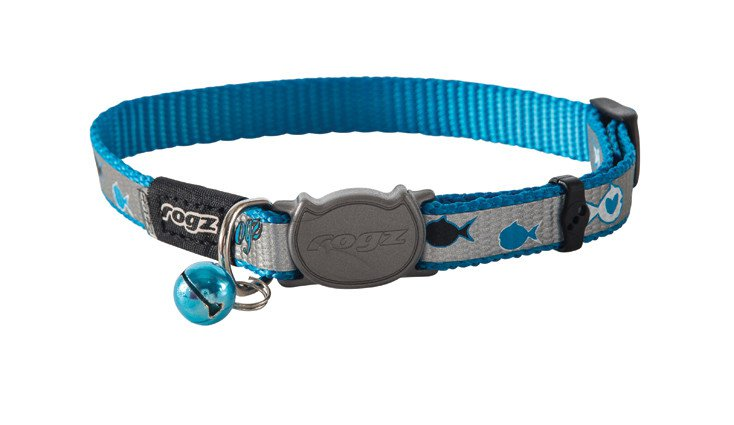 Rogz Reflectocat Blue Fish - 11mm | 20-31 cm