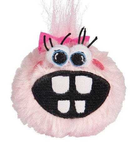Rogz Grinz Fluffy Medium Pink - 6,5 cm.