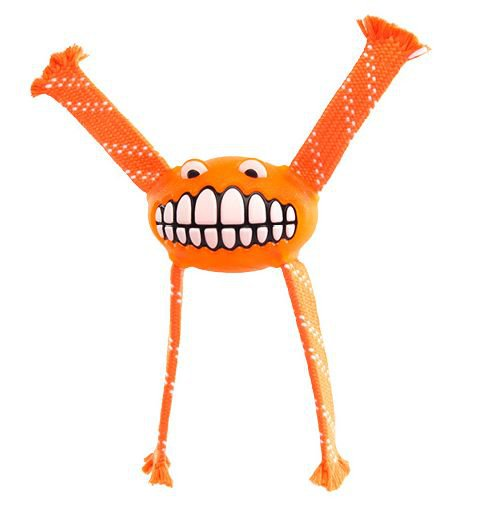Rogz Grinz Flossy Medium Orange - 23cm Medium