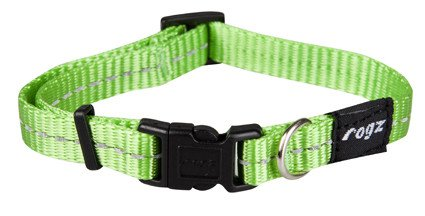 Rogz Nitelife Halsband Lime S - 11mm