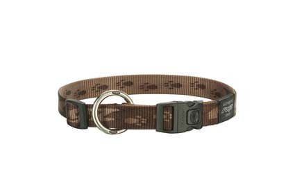Rogz K 2 Halsband Chocolate L - 20mm