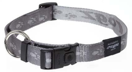 Rogz Everest Halsband Platina XL - 25mm
