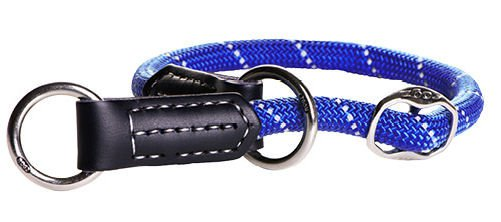 Rogz Rope Obedience Blue Large - 40-45 cm / 12 mm.