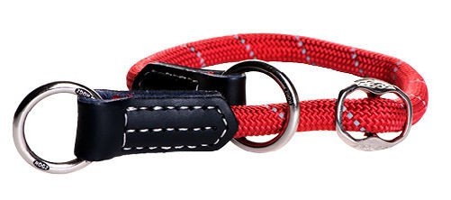 Rogz Rope Obedience Red Large - 40-45 cm / 12 mm.