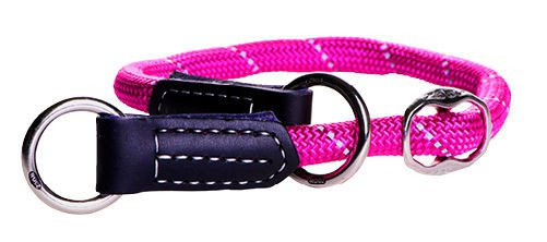 Rogz Rope Obedience Pink Large - 40-45 cm / 12 mm.