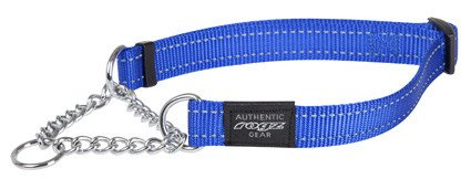 Rogz Fanbelt Obedience Blauw L - 20mm