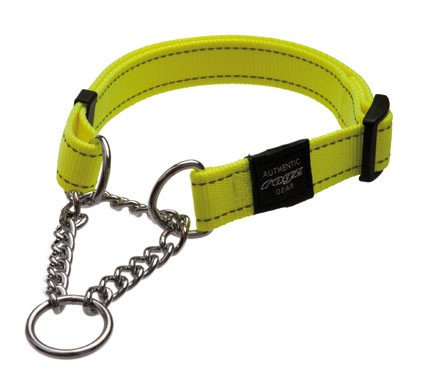 Rogz Snake Obedience Choker Yellow M - 16mm