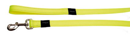 Rogz Fanbelt Lijn Yellow L - 20mm