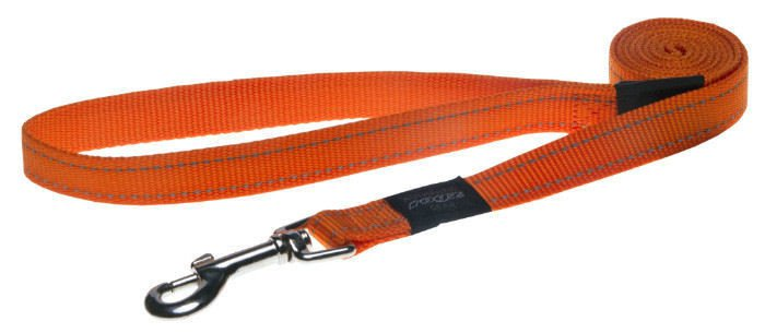 Rogz Fanbelt Lijn Multi Orange L - 20mm