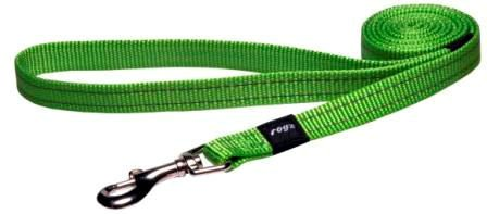 Rogz Snake Lijn Multi Lime M - 16mm