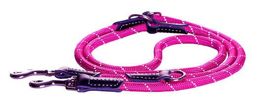 Rogz Rope Lijn Multi Pink Medium - 200 cm / 9 mm.