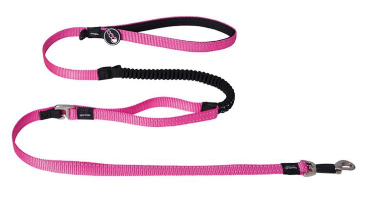 Rogz Snake Control Lead Pink - 16 mm x 140 cm