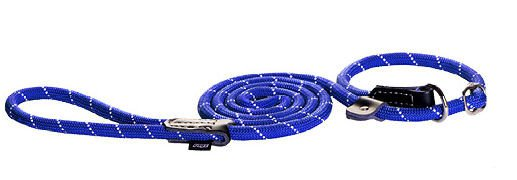 Rogz Rope Lijn Jacht Blue Medium - 180 cm / 9 mm.