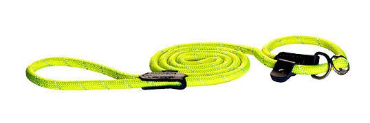Rogz Rope Lijn Jacht Yellow Medium - 180 cm / 9 mm.