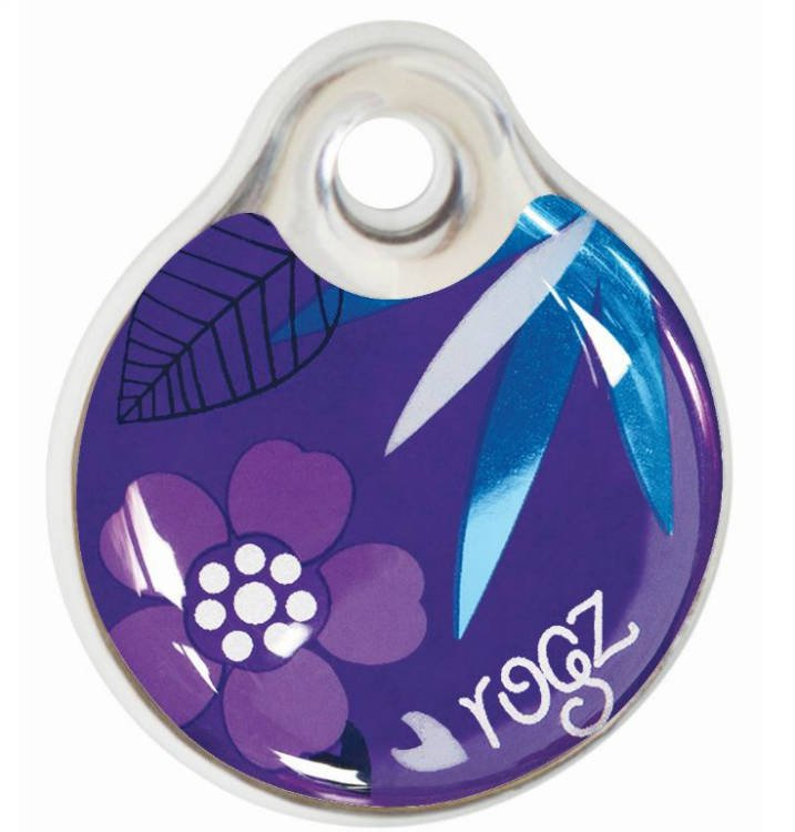 RogZ ID Tag Small Purple Forest