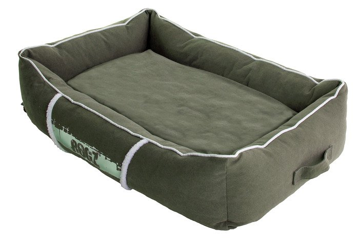 Rogz Lounge Pod Olive/Cream - Large