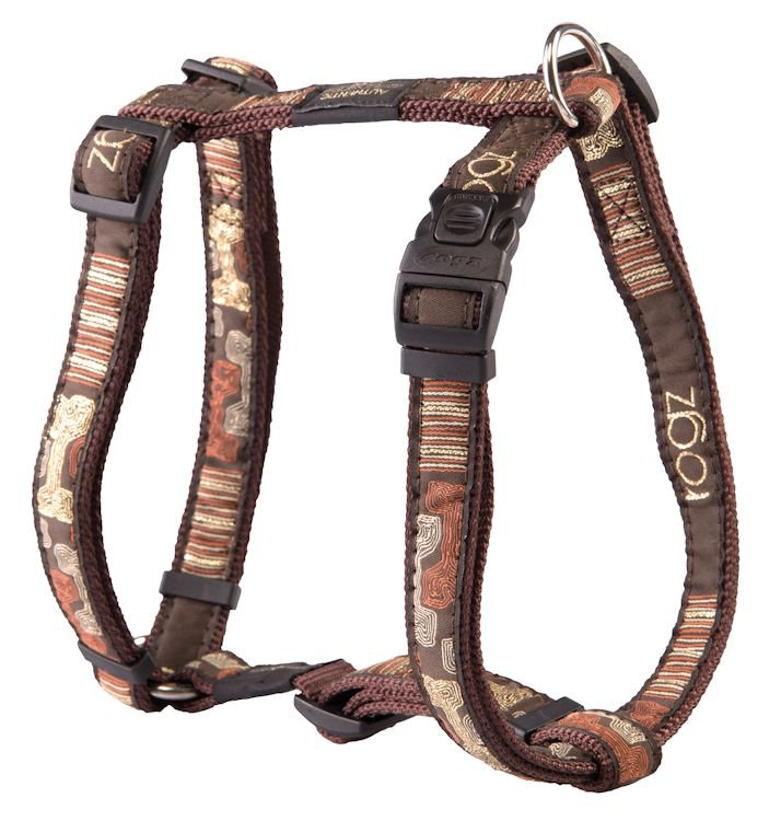 Rogz Beach Bum Tuigje Mocha Bone L - 20mm
