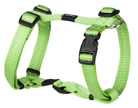 Rogz Snake Tuigje Lime M - 16mm
