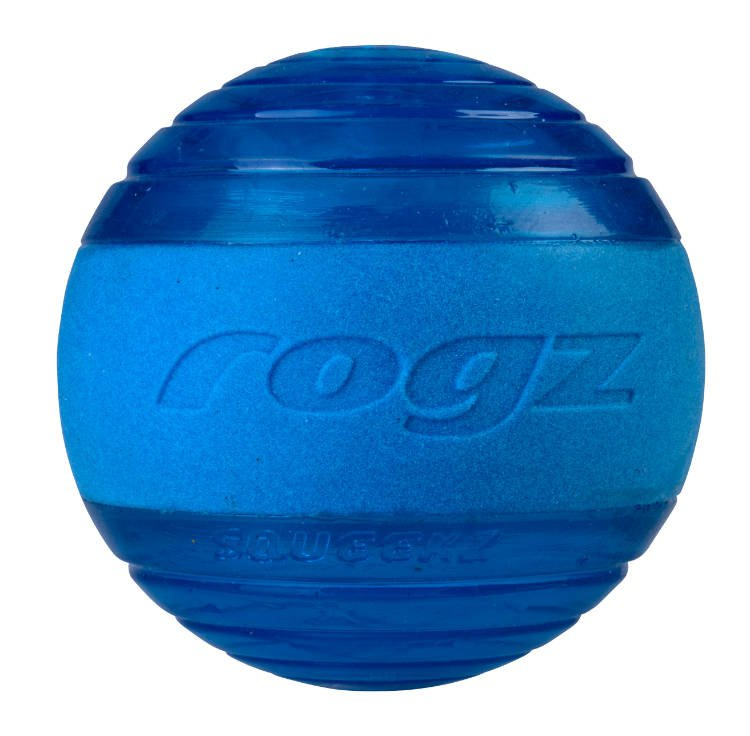 Rogz Squeekz Blue Medium - 6,4 cm