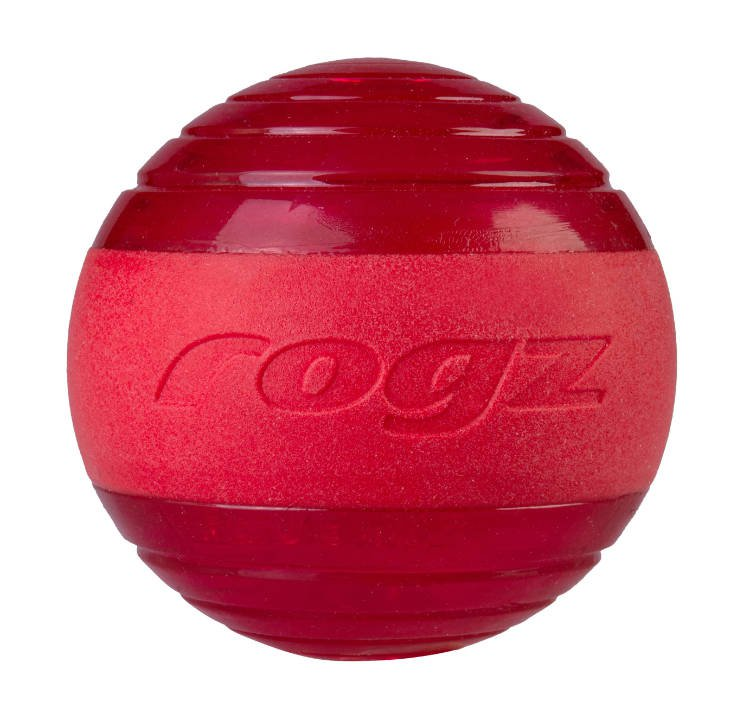 Rogz Squeekz Red Medium - 6,4 cm