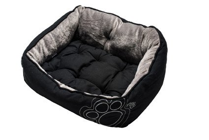 Rogz Luna Podz Medium Black Paw - 56x43x29 cm.