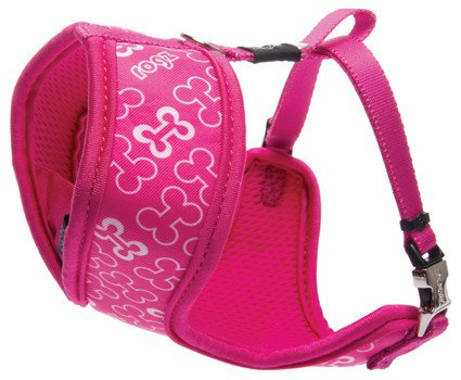 Rogz Lapz Trendy Wrapz Pink Bones S - 12mm