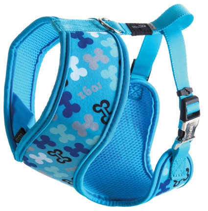 Rogz Lapz Trendy Wrapz Blue Bones M - 16mm