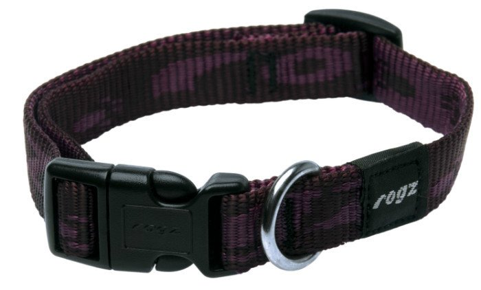 Rogz Matterhorn Halsband Purple M - 16mm