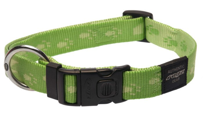 Rogz Everest Halsband Lime XL - 25mm