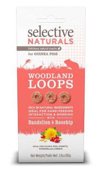 Selective Woodland Loops Guinea Pigs - 4x80 gr.