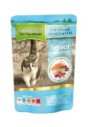 Natures Menu Cat Pouch Senior - 100 gr. (12 verp.)