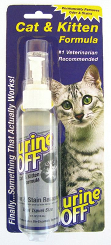 Urine Off Cat & Kitten Spray Blister - 118 ml.