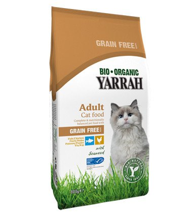 Yarrah Kat Organic Chicken & Fish - 800 gr.