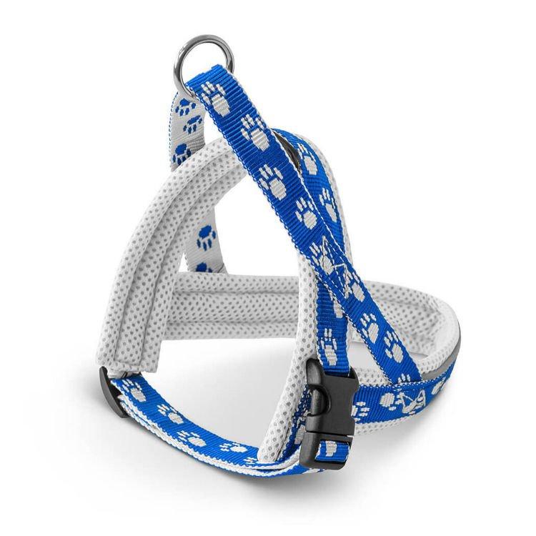 Freezack Harness Nordic Mini Blue With Paws Mini1