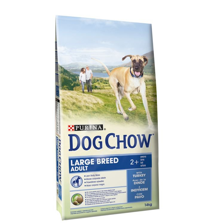 Dog Chow Adult Large Breed - 14 kg.