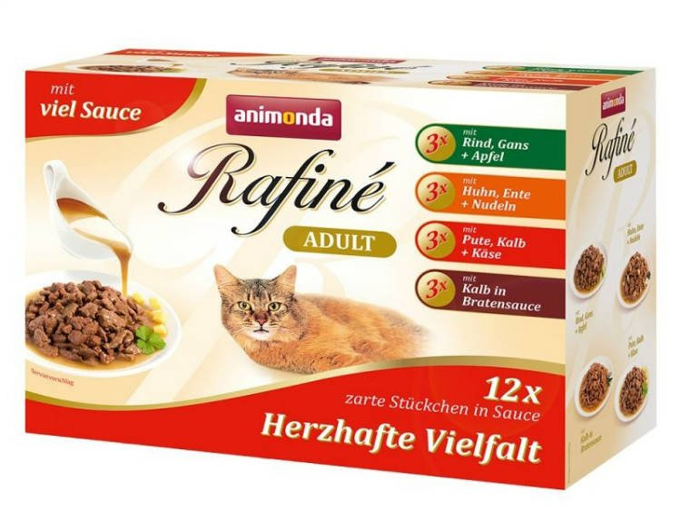 Rafine Pouch MultiPack Savoury - 12x100 gr.