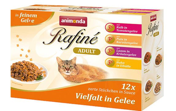 Rafine Pouch MultiPack in Jelly - 12x100 gr.