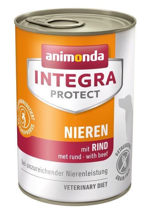 Integra Dog Nieren Beef - 6x400 gr.