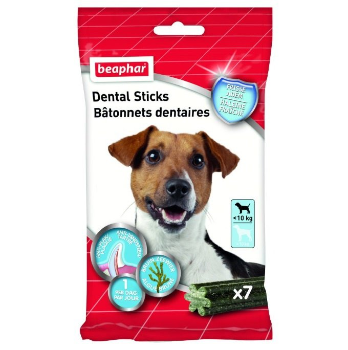 Beaphar Dental Sticks Kleine Hond <10 kg. - 7 st.