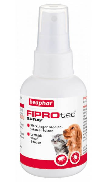 Beaphar FiproTec Spray Hond/Kat - 100 ml.