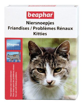 Beaphar Niersnoepjes Kitties - 75 tablet