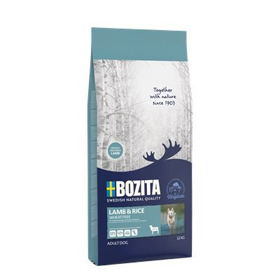 Bozita Lamb & Rice Wheat Free - 12 kg.