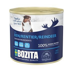 Bozita Blik Dog Rendier - 12x625 gr.